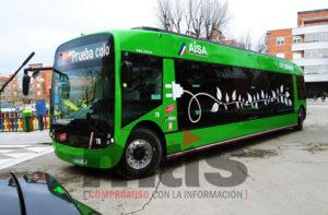 Autobús eléctrico Aranjuez